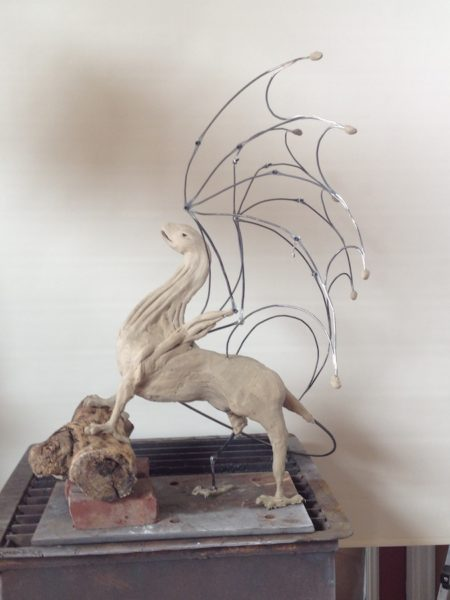 Dragon in Clay 1