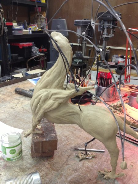 Dragon in Clay 2