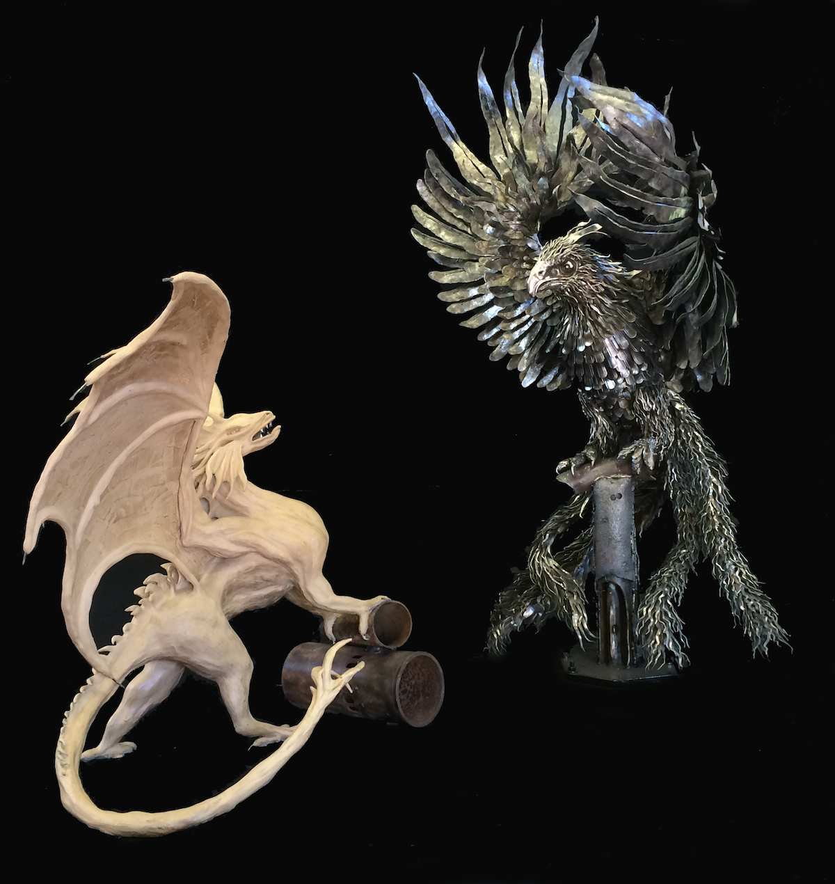 Dragon and Phoenix Model