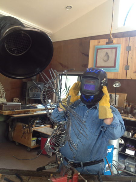 Bobs first welds